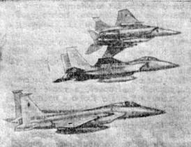 Японские самолеты F-15 американского производства