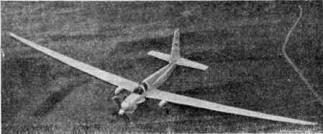 Западногерманский высотный самолет разведчик D-500